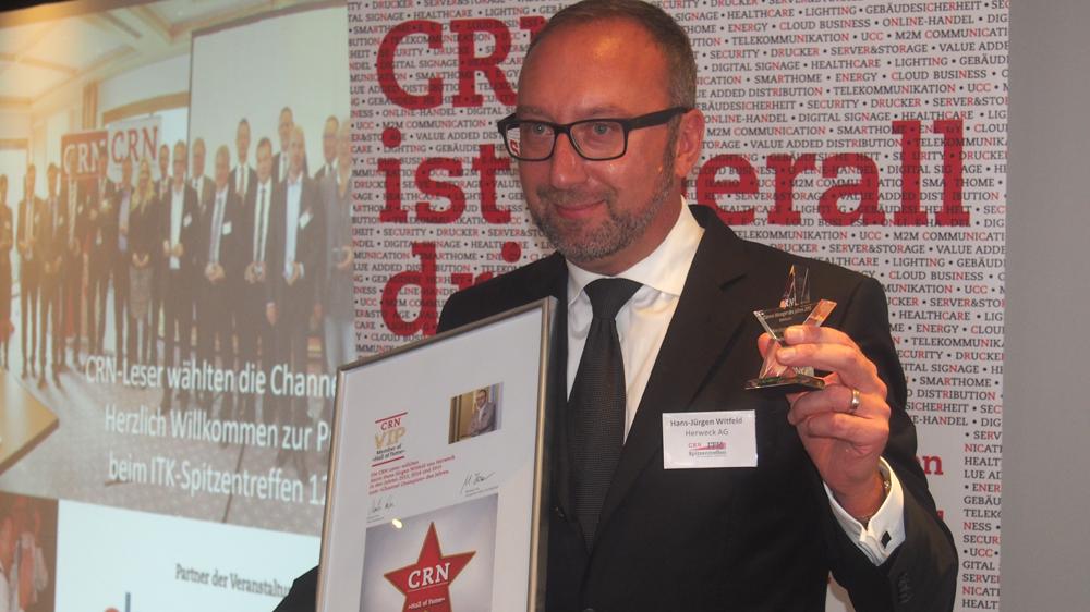 Channel-Manager 2015: Hattrick für Hans-Jürgen Witfeld