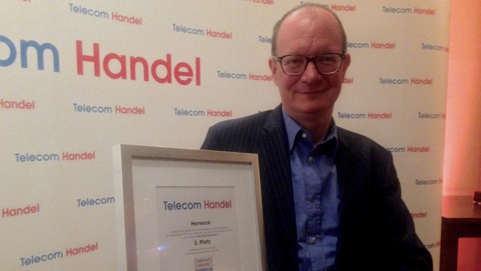Telecom Handel Leserwahl: Herweck ist Premium Distributor