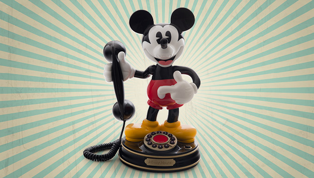 Mickey Mouse-Telefon – #ThrowbackThursday