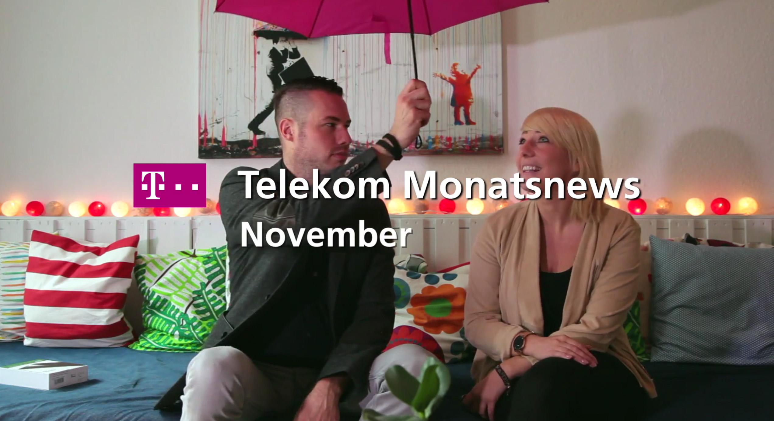 Telekom Monatsnews im November