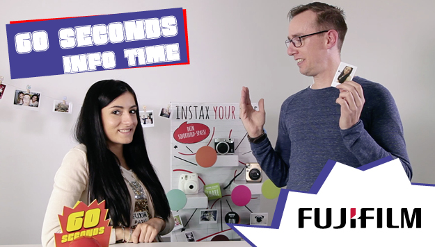 60 Seconds Infotime – FUJIFILM