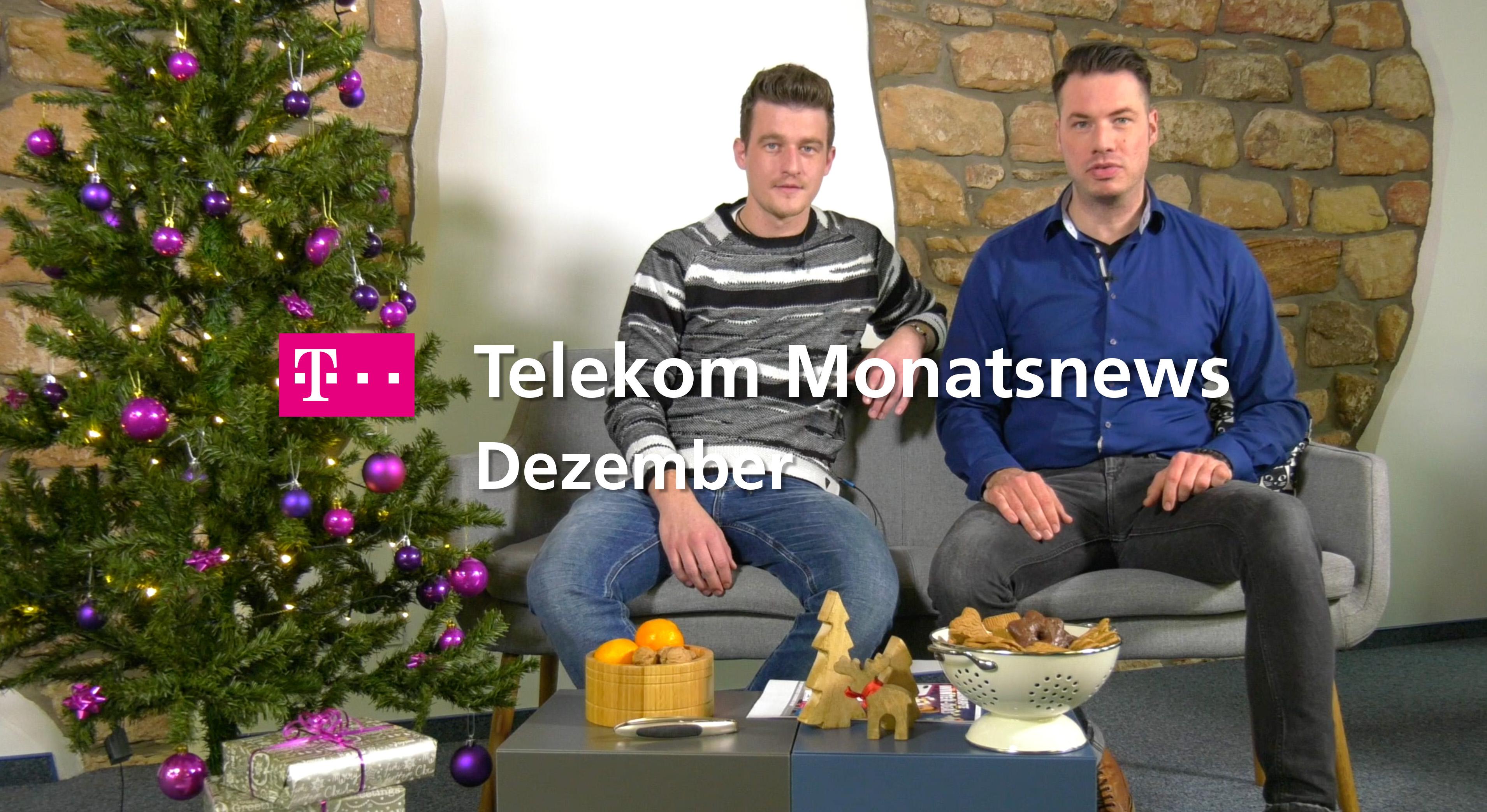 Telekom Monatsnews Dezember