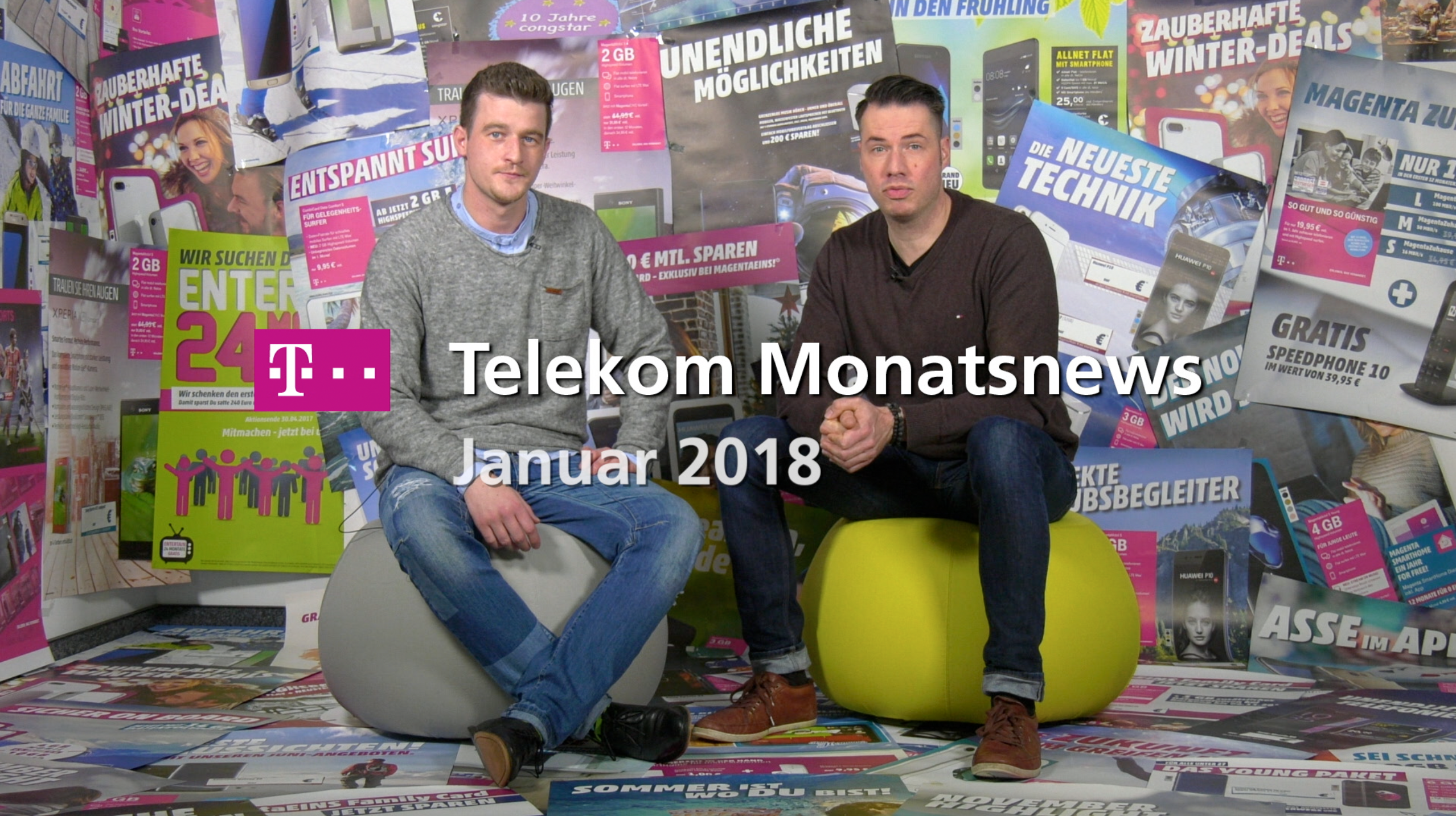 Telekom Monatsnews Januar 2018